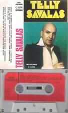 TELLY SAVALAS  DIFICULT SPANISH   cassette  KOJAK   1975 PAPER LABEL SPAIN