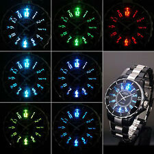 New OHSEN Men's Boys LED Backlight Quartz Wrist Watches Sport Watch Waterproof