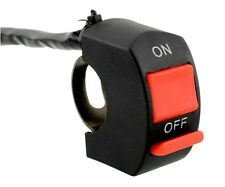"Fog light switch; Motorcycle switch for all bikes fits 7/8"" - 1"" handle bar"