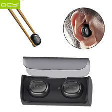 QCY True Wireless Bluetooth Headset Stereo Twins Earbuds F IOS Android Universal
