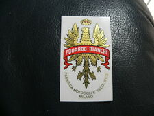 sticker adesivo per bici da corsa vintage BIANCHI