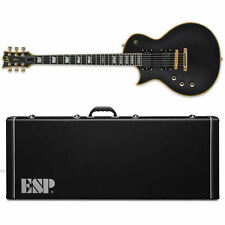 ESP LTD EC-1000 VB Vintage Black Deluxe Series EMG Left Handed *New*  w/ CASE!