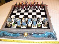 Dragon Chess Set Board & Pieces NIB