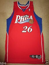 Kyle Korver #26 Philadelphia 76ers Adidas 2007 NBA Game Worn Used Jersey 46