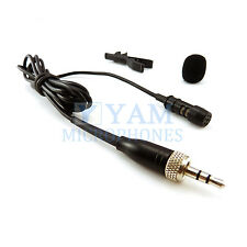 NEW Lapel Mic YAM LM1-C4SE Uni-directional Lavalier Mic FOR Sennheiser Wireless