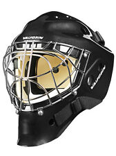 New Vaughn 7700 Cat Eye goal helmet black senior small Sr ice hockey goalie mask