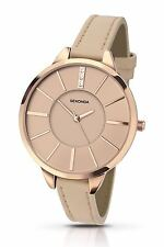 Sekonda Ladies Editions Watch Stone Set Nude Pink Dial & Thin Strap 2316