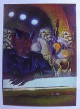 Star Wars 1996 Finest Base All Chrome Number 66 Labria
