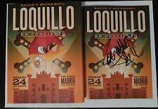 firmado Loquillo:En concierto. Salud y Rock&Roll LAS VENTAS (2CD+DVD)+Camiseta M