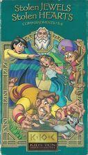 Stolen Jewels Stolen Hearts VHS Kids 10 Commandments Series Commandments 7-8