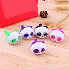 1Pc Candy Color Cute Panda Perfume Auto Vent Dashboard Air Freshener 4.5X3.5cm