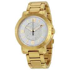 Tommy Hilfiger Liv White Crystal Pave Dial Gold-tone Ladies Watch 1781623