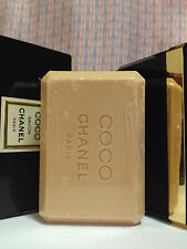 Vintage RARE '80s Chanel COCO Perfumed Soap LARGE 5.3 oz 150 g + LUXURY CASE