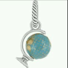 BRIGHTON WORLD GLOBE SPINNING ABC CHARM PENDANT