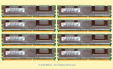 Server RAM 32G 8x 4GB PC2-5300F FB DIMM Fully Buffered DDR2 667 FITS Dell HP IBM