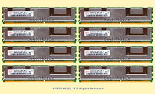 Server RAM 32GB 8x 4GB PC2-5300F FB DIMM Fully Buffered DDR2 ECC REG Memory LOT