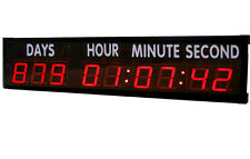 4'' Large LED Countdown Clock Count Down Up Days For Sports Race Olympic Games