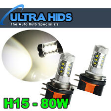 H15 80w CREE LED bombillas de xenón High Beam Drl Faros Blanco Audi Bmw Mercedes Vw