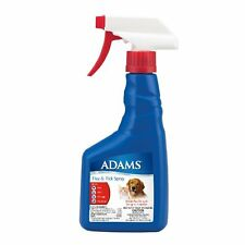Adams Flea and Tick Spray for Cats and Dogs, 16 Oz New