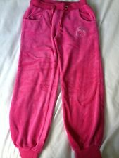 M&S Hello Kitty Cropped? Jogging Tracksuit Bottoms Trousers, VGC, Age 9 Years