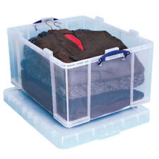 2 REALLY USEFUL STORAGE BOXES 145 LITRE - NEW (l)810 x (w)620 x (d)430mm  +24h