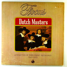 "12"" LP - Focus  - Dutch Masters - C2268 - washed & cleaned"