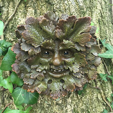 Woodknot Old Greenman Garden Wall Plaque Outdoor Celtic Pagan Decorative 09042