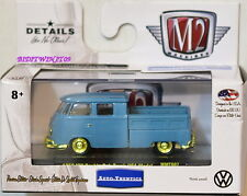 M2 MACHINES 2016 WALMART 1959 VW DOUBLE  CAB TRUCK USA MODEL CHASE