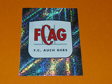 N°43 BADGE ECUSSON FC AUCH GERS PANINI RUGBY 2007-2008 TOP 14 CHAMPIONNAT FRANCE