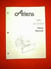 "ARIENS TRACTOR 934 SERIES 42"" SNOW PLOW BLADE ATTACHMENT OWNER'S MANUAL 034623"