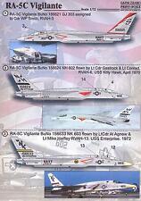 Print Scale Decals 1/72 NORTH AMERICAN RA-5C VIGILANTE