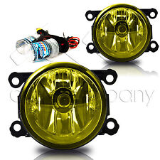12-14 Impreza 15-16 WRX Fog Lights w/Wiring Kit & HID Conversion Kit - Yellow