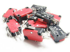 10 X Micro Limit Home Switch Switches CNC Router Mill Lathe 3D Printer Reprap