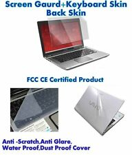 "New 3IN1 Laptop skin pack 15.6""Inch,Laptop Screen Keyboard Body Guard/ Protector"