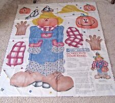 Vintage 1997 Daisy Kingdom Fabric Panel - Scarecrow Door Panel #3597