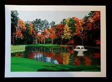Duke Golf Course Hole No.12 Limited Edition Signed Lithograph with Certificate