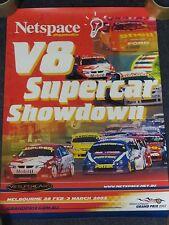Netspace V8 Supercar Showdown - Australian Touring Car Championship Poster 2002