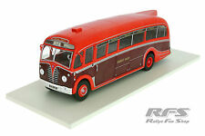 AEC Regal III Harrington - rot / weinrot - Baujahr 1950 - 1:43 AL 1950-Bus-16b