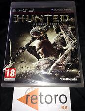 HUNTED THE DEMON'S FORCE PS3 PlayStation 3 PAL Español NUEVO PRECINTADO New Seal