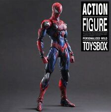 "Spider Man Action Figure 11"" 11 inch Marvel DC Hot Toys LOTS"