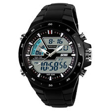 2015 Moda Reloj Hombres Deportivo A Prueba De Agua Led Dígitos Oferta