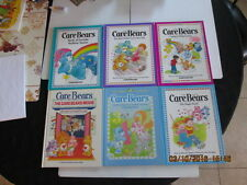 6hc CARE BEARS parker brothers MOVIE BOOK BABY HUGS TUGS MAGIC WORDS BEDTIME ++