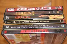 Lot of 25 Horror & Sci-Fi Movies on 6 DVDs