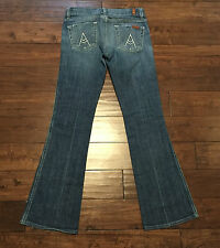 7 For All Mankind Boot Cut Jeans Women's Size 26 X 30