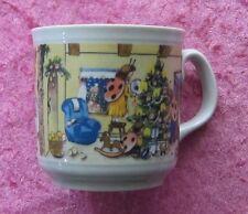 Feinkost Käfer Sammel-Tasse: Weihnachts-Tasse Sessel-Blau