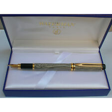 WATERMAN  MAN RHAPSODY CAVIAR  FOUNTAIN PEN MED PT  NEW IN BOX  FROM THE 80'S