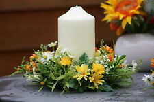Floral Daisy Ring - Wedding - Home - Spring Table Artificial Flower  Decoration
