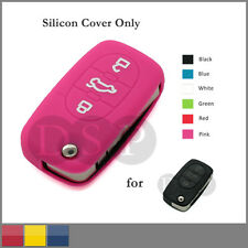 Silicone Cover Holder fit for AUDI Folding Remote Key Fob Case Shell 3B CV7 PK