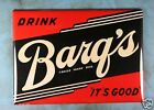 "Vintage Style Soda Sign Fridge Magnet 2 1/2"" x 3 1/2"" Drink Barq's Root Beer"