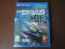 Wipeout 2048. PS VITA. signé par Sony dev et factory sealed.